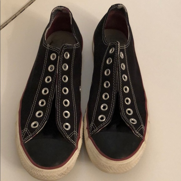 Converse Other - Converse shoes no laces